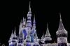 Cinderella Castle at night, Disney World Magic Kingdom FL