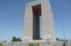 Turkish Monument at Eski Hisarlik, Gallipoli Peninsula