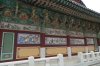 Story telling on the temple halls, Gayasan Haein Temple, South Korea