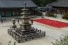 Jeonjung 3-storied stone pagoda, Gayasan Haein Temple, South Korea