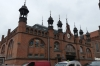 Dlugi Targ (the Long Market) in the rain, Gdańsk PL