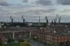 Gdańsk shipyard from the Solidarity Museum, Gdańsk PL