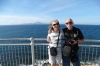 Bruce & Thea with Africa in the background, Gibraltar