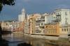 Coloured houses on the Riu Onyar, Girona