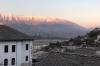 Sunset in Gjirokaster AL
