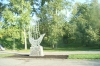 Another memorial to Peter the Great - the lover of sailing. Kostroma RU