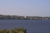 The mighty Volga - indeed mighty in size.  They tell us it freezes over in Winter. Kostroma RU.