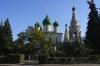 Church in the centre of Yaroslavl RU.