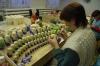 Painting Russian Dolls in Sergiev Posad RU.