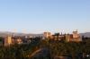 Alhambra from the Albaicin neighbourhood, late afternoon, Granada ES