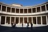 Courtyard of Palacio de Carlos V (Palace of Charles V), Alhambra, Granada