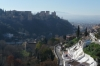 View towards the Alhambra from Museo Cuevas del Sacromonte