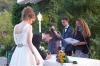 Signing the marriage certificate. Hayden & Andrea's wedding