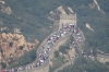 Crowds on the North Side, The Great Wall of China at Badaling