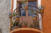 Colourful balcony in Guanajuato