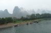 Cruising from Guilin to Yangshuo on the Li River CN