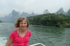 Cruising from Guilin to Yangshuo on the Li River CN