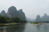 Cruising from Guilin to Yangshuo on the Li River