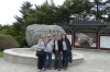 Our tour group, Gyeongju Bulguksa temple, South Korea