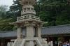 1400 yo Granite pagoda Gyeongju Bulguksa temple, South Korea