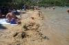 "The ""sandy beach"" of U Lovrečina"