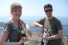 Hayden & Andrea from the Dubrovnik Cable Car Stop