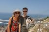 Thea, Hayden & Pepe above Dubrovnik