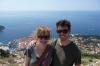 Hayden & Andrea above Dubrovnik HR