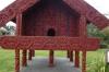 Pataka (store house) at Te Puia park, Rotorua NZ
