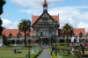 Rotorua Museum of Art & History, built as an Elizabethan bath house NZ
