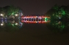 Lake Hoan Kiem at night with lights, Hanoi VN