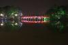 Lake Hoan Kiem at night with lights