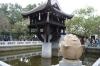 One Pillar Pagoda, built by Emporer Ly Thia Tong (r 1028-54)