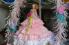 Doll dressed and decorated with paper, Havana CU
