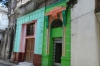Colouful facades. Streets in Havana