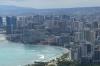 View to Honolulu. Lē'Ahi Diamond Head Crater Walk HI USA
