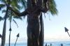 Duke Paoa Kahanamoku (1890-1968) Father of international surfing, Waikiki Beach HI USA
