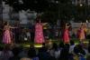 Hula dancing at Waikiki Beach HI USA