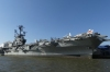 Intrepid Aircraft Carrier (museum) on the Hudson River NY USA