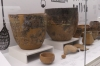 Clay pottery, Stone Age, National Museum, Helsinki FI