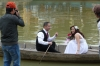 Wedding photos on the Thu Bon River