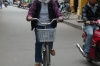 Cyclist in Hoi An, VN