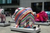 Painted Elephants at Tung Chung HK