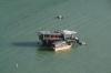 Fishing boat near Lantau Island, Hong Kong