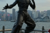 Bruce Lee remembered on the Avenue of the Stars, Hong Kong