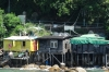 Fisherman's huts at Lamma Island, Hong Kong