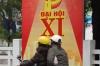 Tet 2011 (New Year) celebration banner near the Trang Tien Bridge