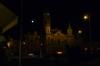 Győr City Hall with moon HU