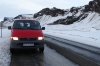 On the road to the glacier