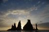 Reynisdrangar stacks from Reynisfjöru beach